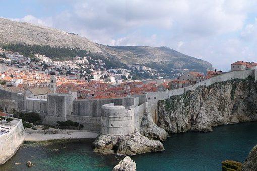 Remparts de Dubrovnik - tournage de Game of Thrones