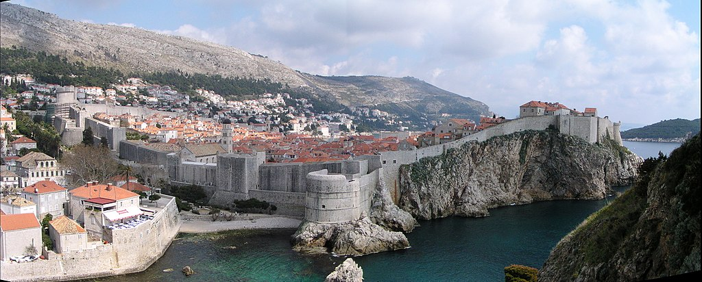Remparts de Dubrovnik - tournage de Game of Thrones
