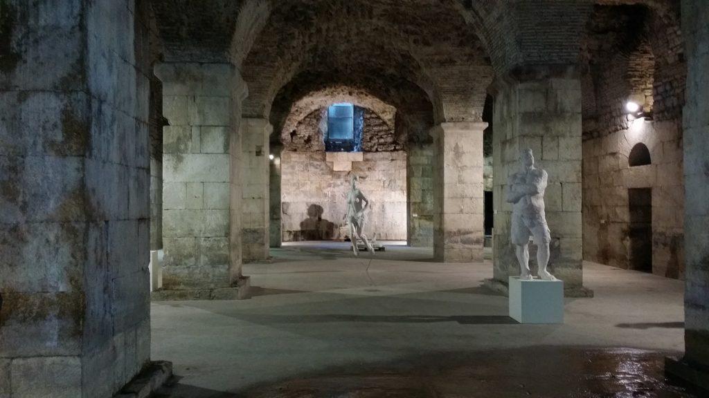 Sous-sols du palais de Dioclétien, à Split - tournage de Game of Thrones