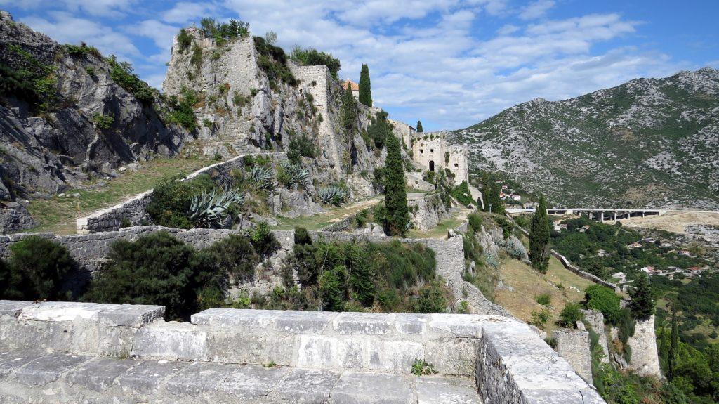 La forteresse de Klis, en Croatie - tournage de Game of Thrones