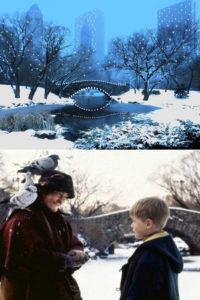 Central park - lieux de tournage à New York à Noël